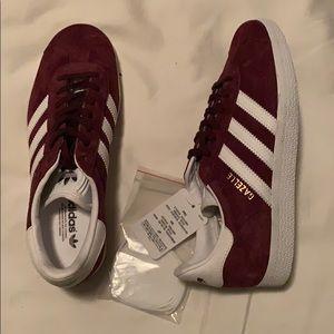 adidas Shoes - Adidas Gazelle Maroon size 5 1/2 US